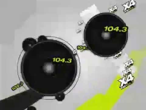 """X4 Radio 104.3 - Spot """"Cultura pop, mundo electrónico"""""""