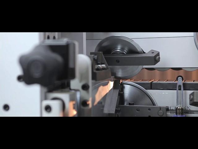 WD-323JS Кромкооблицовочный станок  с прифуговкой и клеевой циклей от WDMAX