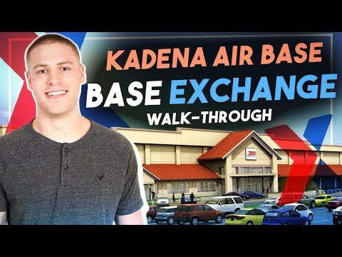 Kadena Air Base - Base Exchange walk-through
