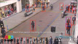 Real-time event detection for video surveillance applications