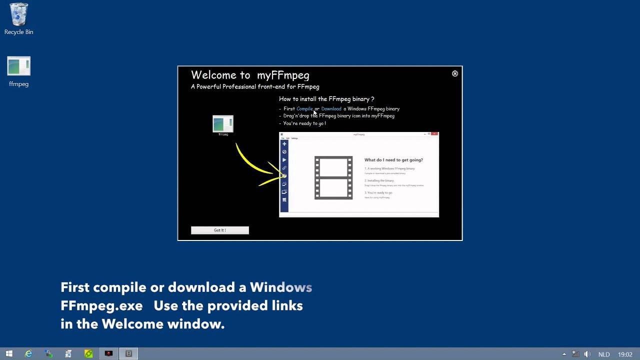 Ffmpeg download binary windows
