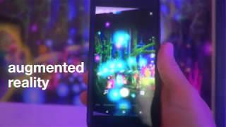 Augmented Reality Art: Guiding Jungle Lights ~ nice dream