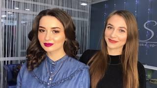 Evening make-up | Как сделать вечерний макияж. Пошаговое обучение. Бьюти макияж.