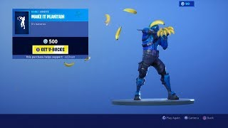 *NEW* MAKE IT PLANTAIN EMOTE Fortnite ITEM SHOP SKINS TODAY! ITEM SHOP July 21! (Fortnite Live)