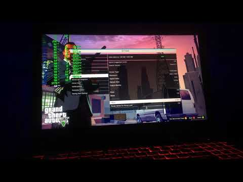 GTA V ASUS TUF FX504GM i7 8750H 1060 6GB 8GB RAM Normal/High/Max FULL Benchmark