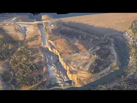 Dam Bypass Erosion Fly-Through