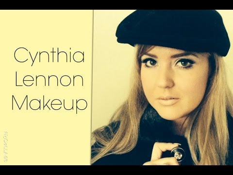 Cynthia Lennon Makeup Look