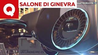 Servono le gomme ad un'auto volante? - Salone di Ginevra 2019