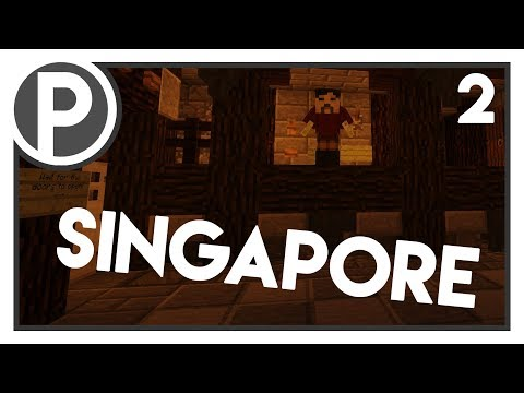Singapore and the best ride ever... | Craftventure Server Tour #2