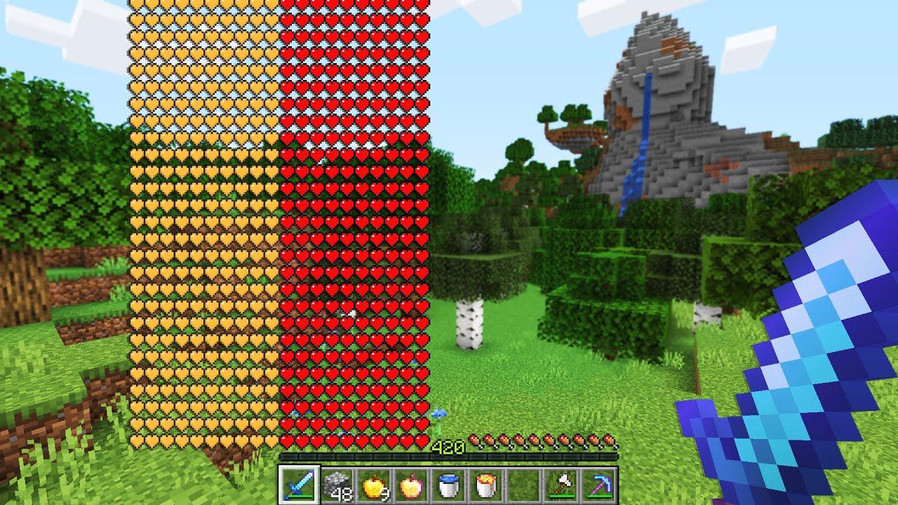 Minecraft UHC but I start with infinite health..