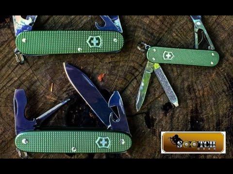 Victorinox Alox 2017 Limited Edition Knives
