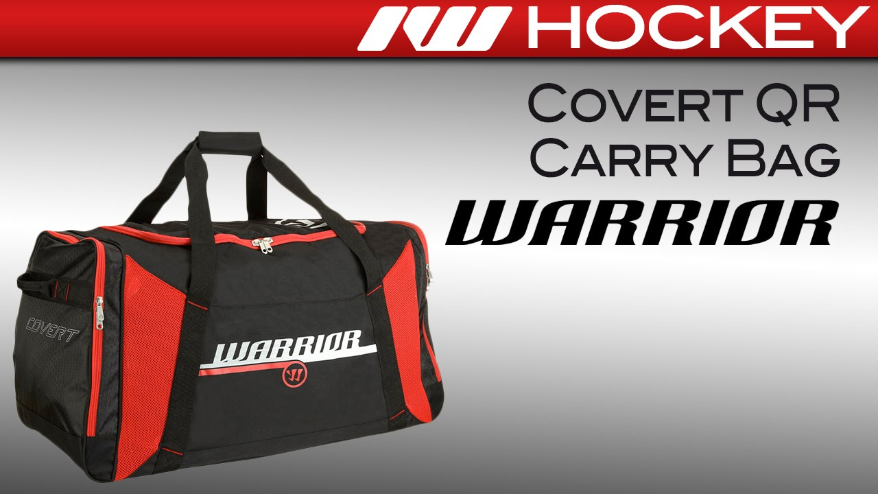 Warrior Covert Carry Hockey Bag Review