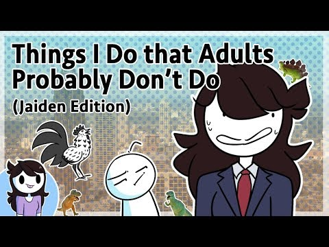Thumbnail: Things I Do that Adults Probably Don't Do (Jaiden Edition)