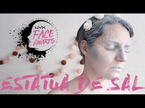 NYX Cosmetics Spain Face Awards | Estatua de sal #teamblanchys