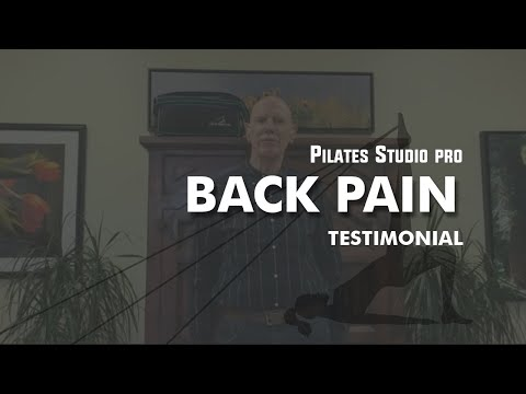 Back Pain? Watch the entire video | Pilates Studio Pro™