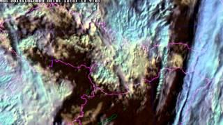6.11.2013 - radary mění počasí nad Evropou