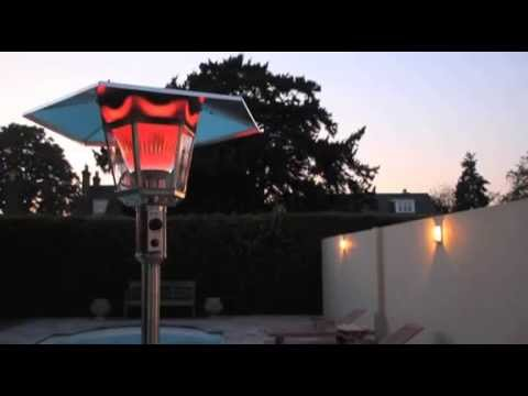 15kW LONDON Gas Lamp Patio Heater from Heat Outdoors