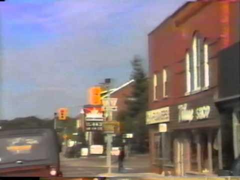 A Trip Down Main Street In Huntsville, Ontario - 1985