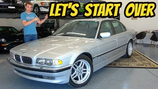 I Bought the Greatest BMW 7-Series Ever Made, And It's Still Junk! (2001 740i Sport)