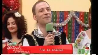 Ion Paladi - Foaie verde si-un chiperi. File de Craciun 2013 la Etno TV Romania.
