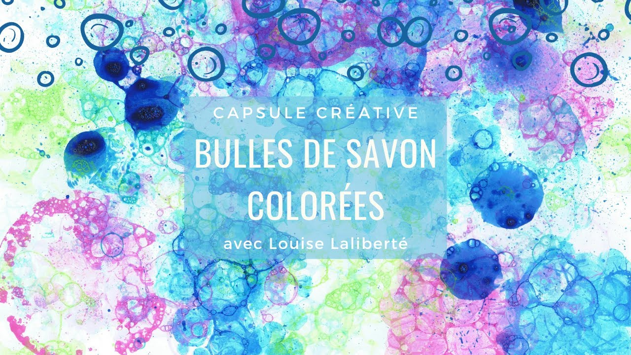 capsule cr ative bulles de savon color es youtube. Black Bedroom Furniture Sets. Home Design Ideas