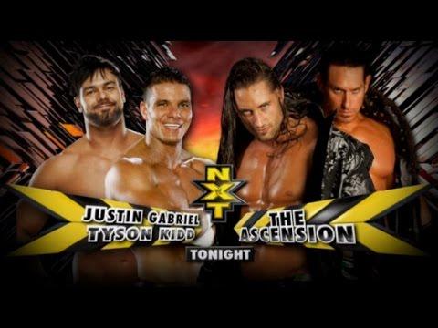Wwe The Ascension VS Tyson Kidd - احدث فيديوهات المصارعة الحرة - مصارعه دبليو اي