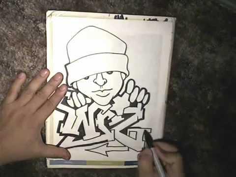 Un Como Zapatillas En Modacalle 2 Deportivas Personaje Dibujar Peru mp4 Graffiti wk0NnP8OXZ