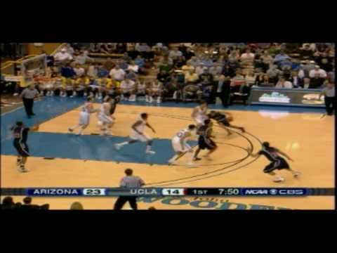 2009/2010 Arizona Wildcat Basketball @ UCLA