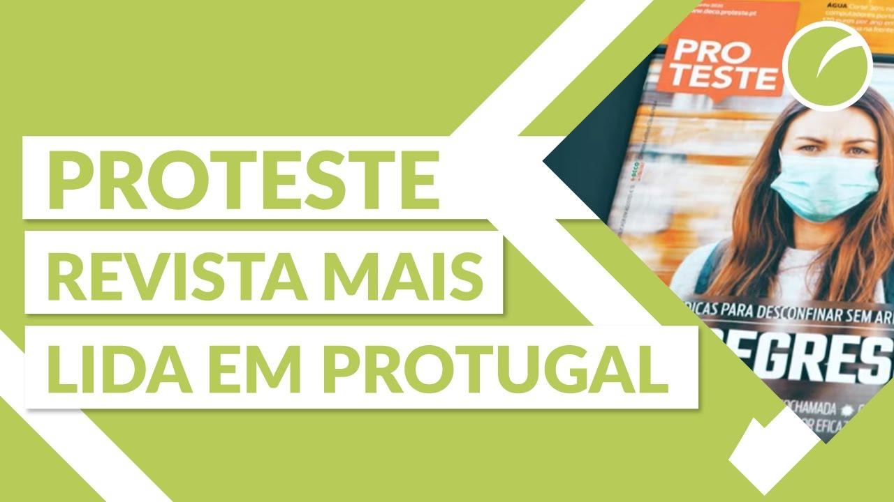 A PROTESTE é a revista mais lida em Portugal