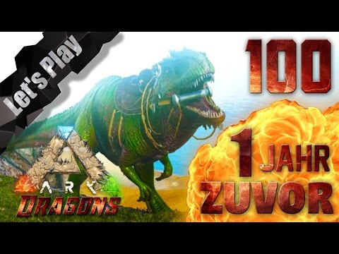 ARK Survival Evolved 100# GIGA zähmen - 1 JAHR zuvor / ARK Dragons / Ecrofwodahs