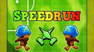 Hilarious BTD Battles SpeedRun Attempt! (Re-Upload)