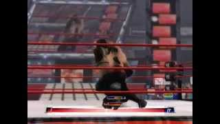 WWE Raw Total Edition finishers