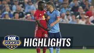 NYC FC vs. NY Red Bulls | 2018 MLS Highlights