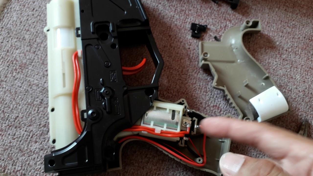 Inside M4 The Purnisher Gel Gun Blaster