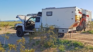 BREAKING DOWN in a TRUCK CAMPER is AWESOME - Part 1