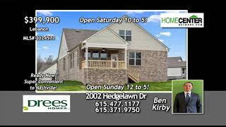2002 Hedgelawn Dr, Drees Homes, Ben Kirby