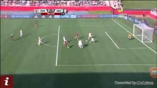 Gol de México vs Inglaterra 1-2 mundial femenil