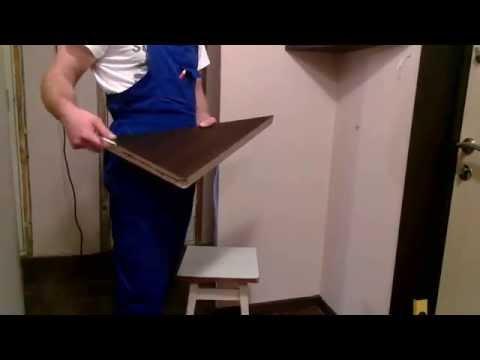 видео: угловая полка