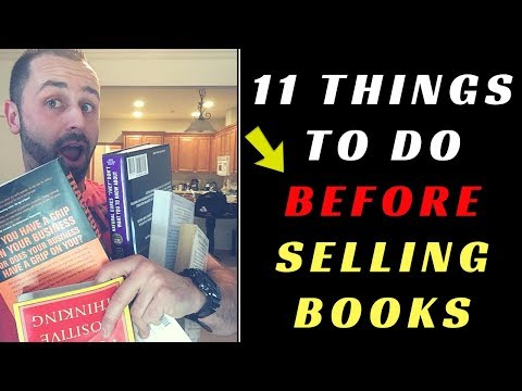 11 Things To Do BEFORE You Start Selling Books on Amazon FBA