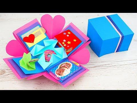 5 подарков на День Святого Валентина своими руками - Смотреть видео без ограничений