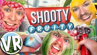 FRUGTSKYDNING OG HISTORIER FRA BLOCKBUSTER (Shooty Fruity VR på HTC Vive - Dansk)