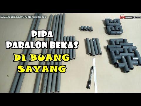 Ide Kreatif dari Pipa Paralon PVC Bekas | #Eps71