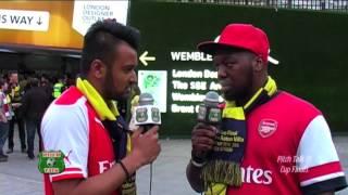 Pitch Talk @ FA Cup final 2015 - Da Gman & Nick Patel