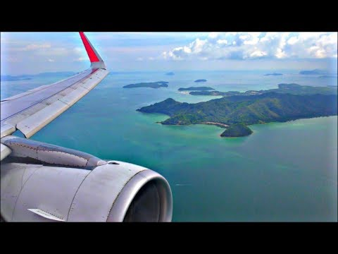 Thai Air Asia Airbus A320-216 | Singapore to Phuket *Full Flight*
