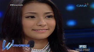 Wowowin: Teen beauty queen, nais maging role model sa kabataan