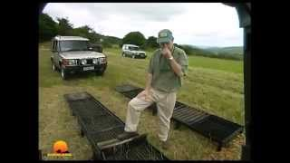 Jeep, Land Rover, Mercedes-G. Traction control comparison. 4WD1, EP8