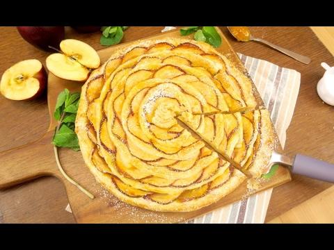 Crostata Di Mele E Pasta Sfoglia In Pochi Minuti Ecco Pronto Il