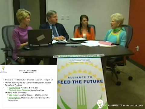 Alliance to Feed the Future - Reaching the Next Generation to Sustain Modern Agricultural Practices