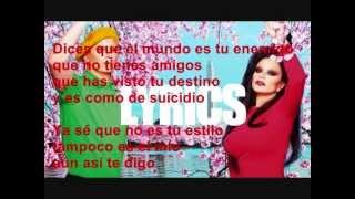 Fangoria - Piensa Positivo con letra ♥