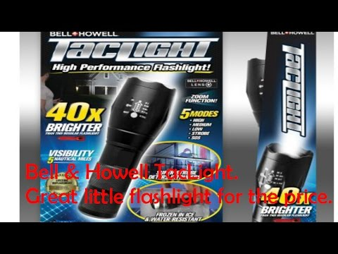 Bell and Howell TacLight - YouTube